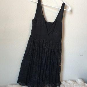 Beautiful black lace dress size M nwt *sexy*